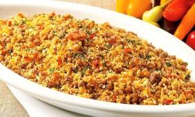 foto da receita Farofa de cenoura com linhaça