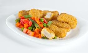 foto da receita Nuggets de grão de bico
