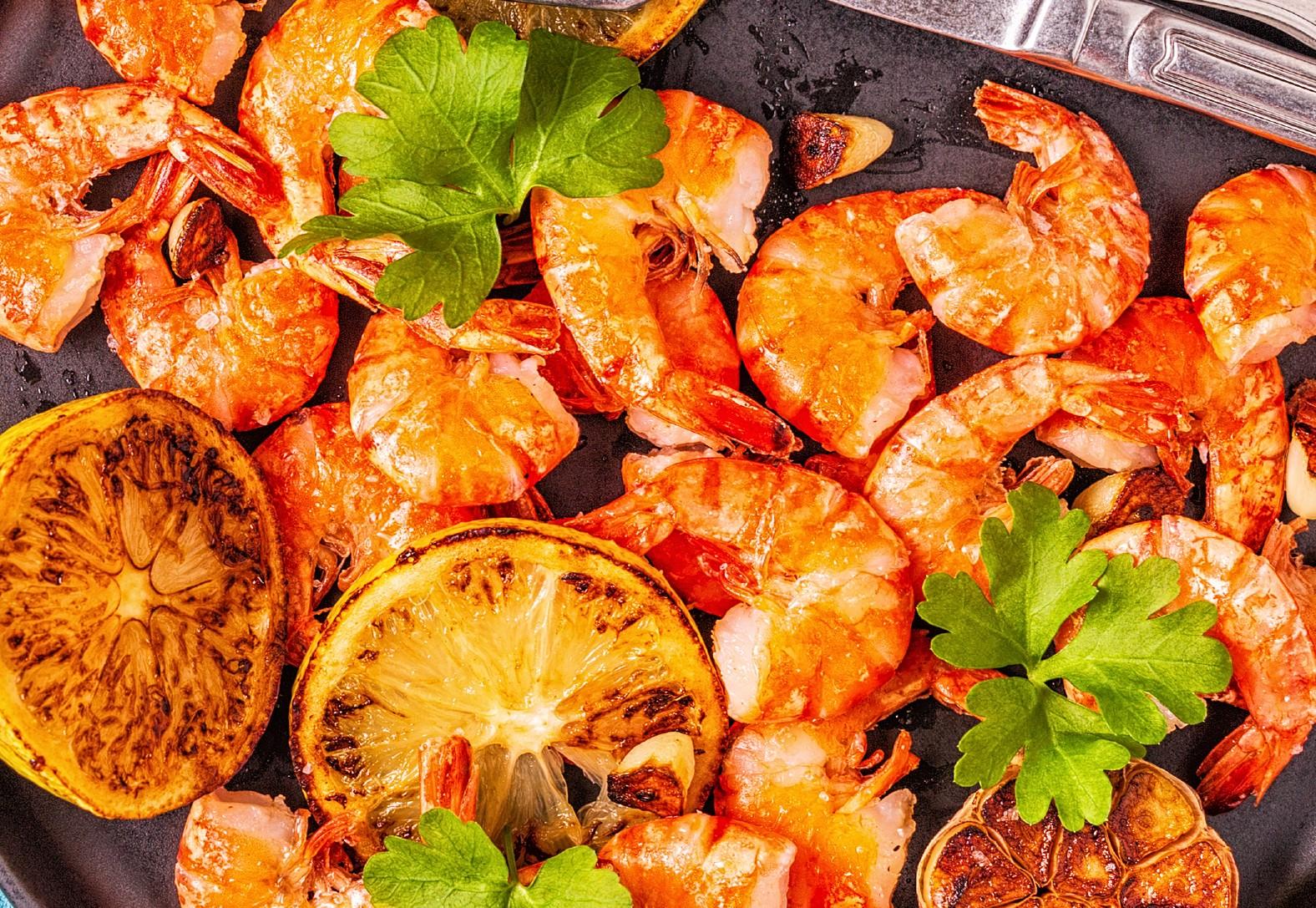 foto da receita Camarão grelhado