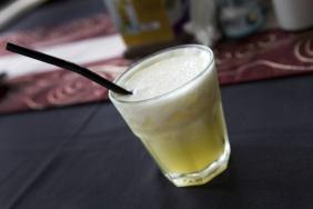 foto da receita Suco de abacaxi gaseificado