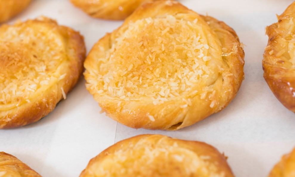 foto da receita Pãozinho recheado com goiabada