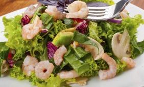 foto da receita Salada de frutos do mar