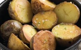 Batata bolinha dourada