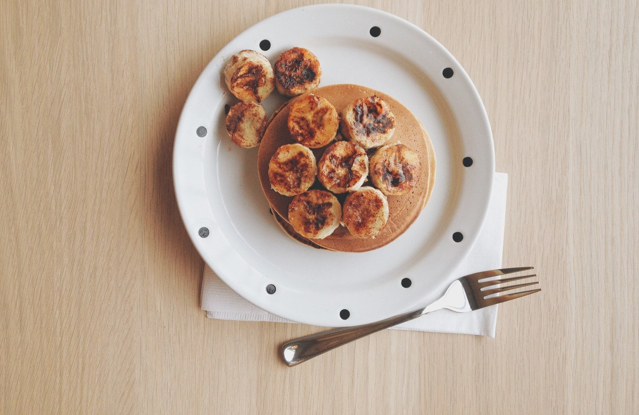 foto da receita Panqueca de banana com aveia