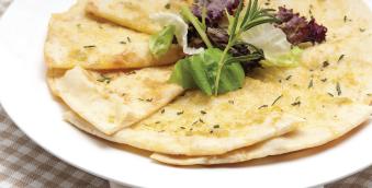 foto da receita Torradinhas de pão sírio