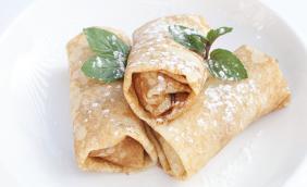 foto da receita Wrap doce de damasco