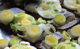 foto da receita Merluza com alho poró