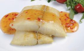 foto da receita Filé de pescada ao molho de laranja