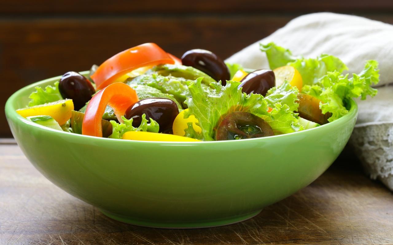 foto da receita Salada grega