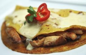 foto da receita Panqueca com recheio cremoso de carne