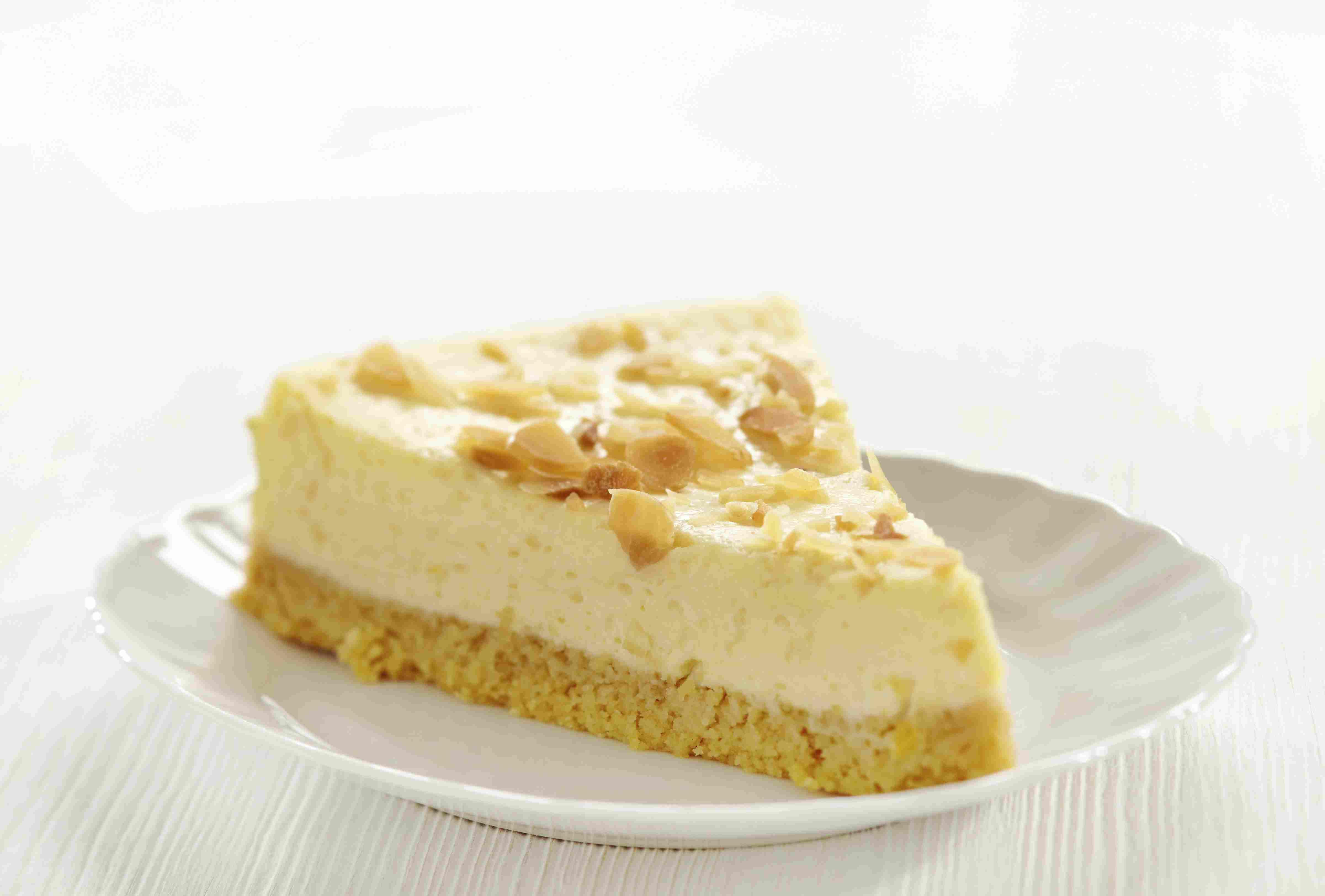 foto da receita Cheesecake com mel e castanha-do-pará