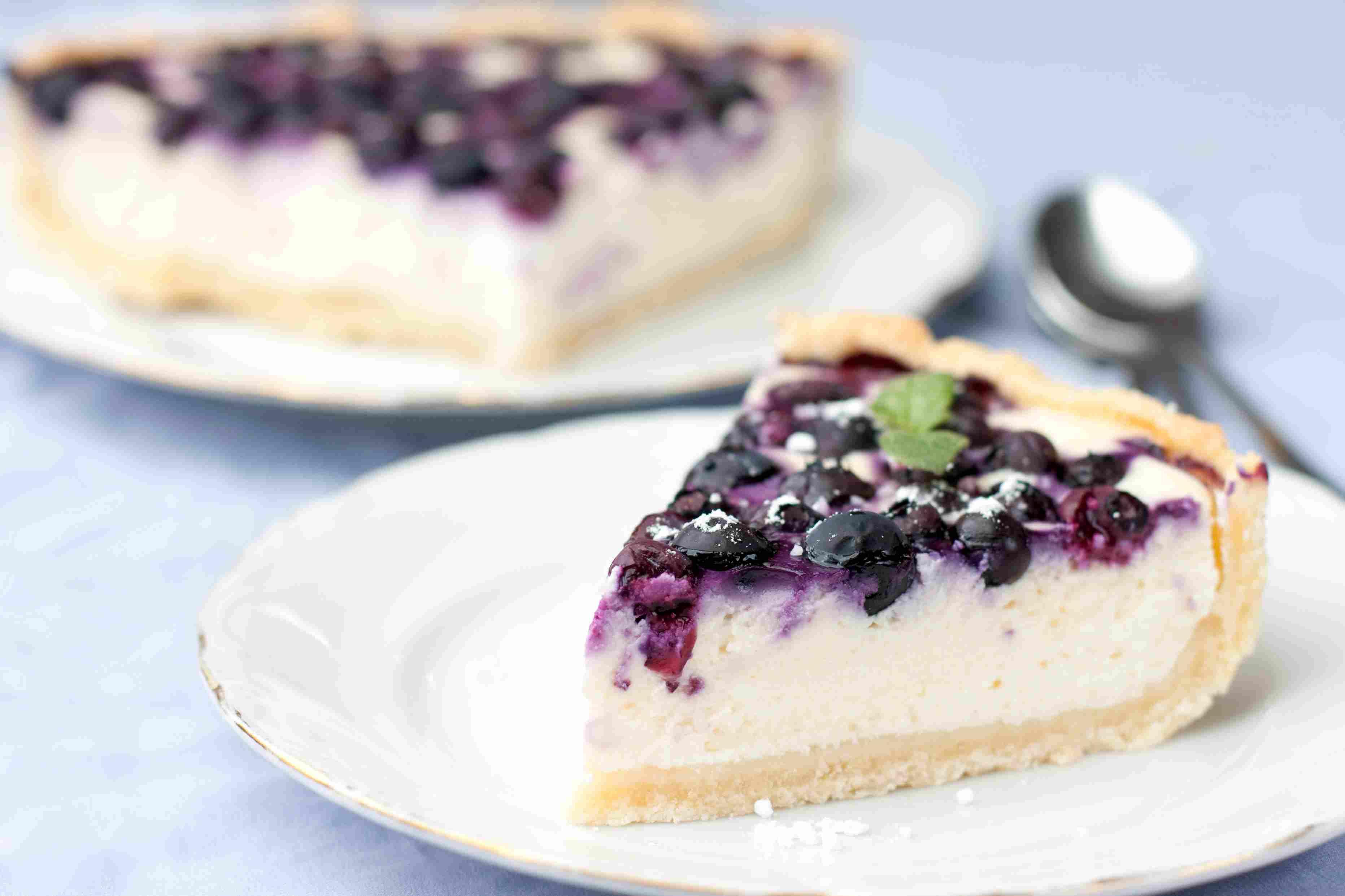 foto da receita Cheesecake com geleia de uva