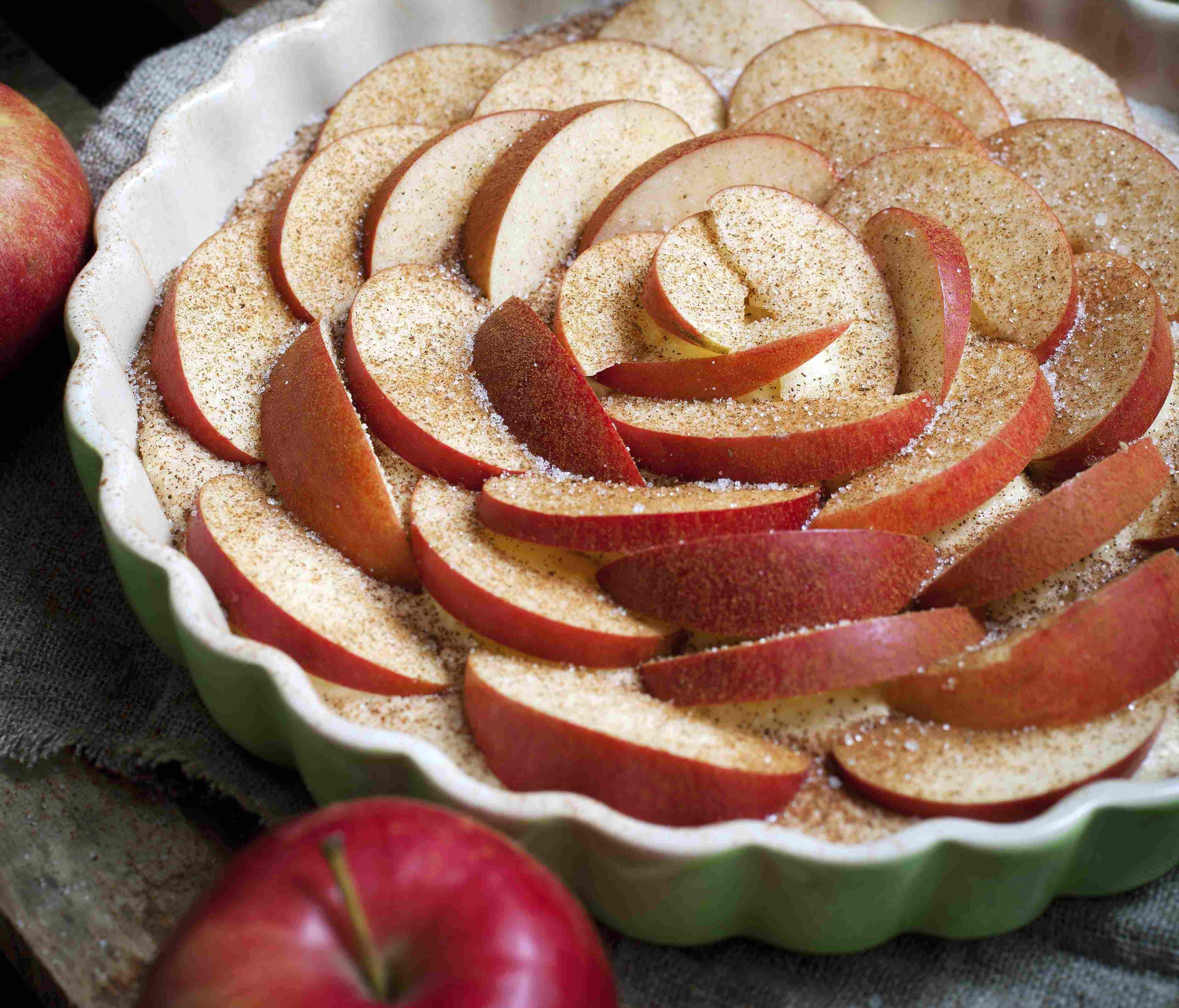 foto da receita Torta fácil de maçã