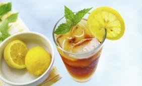foto da receita Chá gelado de limão