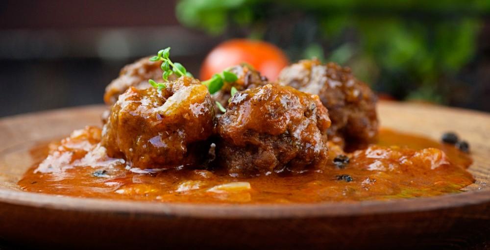foto da receita Bolinho de carne