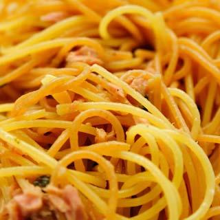 foto da receita Espaguete com atum