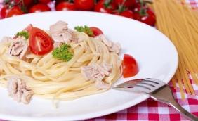 foto da receita Fettuccine com atum