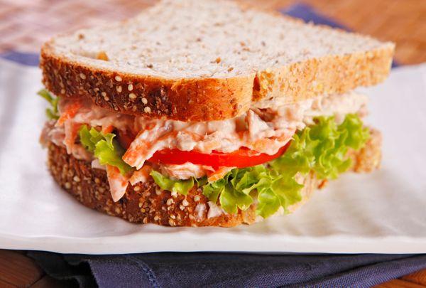 foto da receita Sanduíche de atum