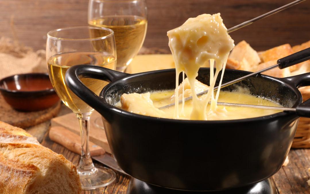 Fondue de queijo simples
