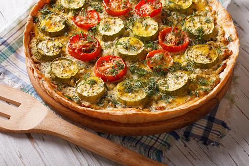 Torta rápida de legumes