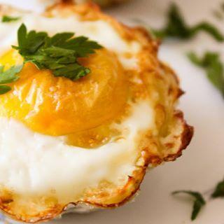 Cestinha de batata e ovo