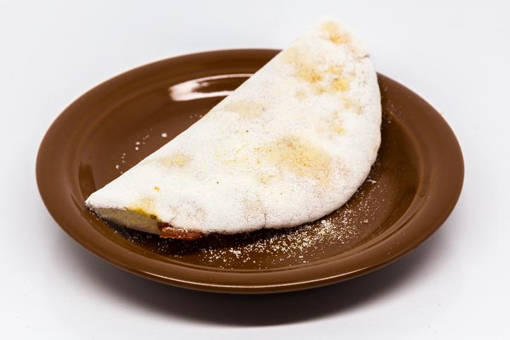 foto da receita Tapioca com carne
