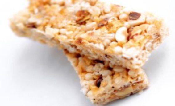 foto da receita Barrinha de cereais caseira