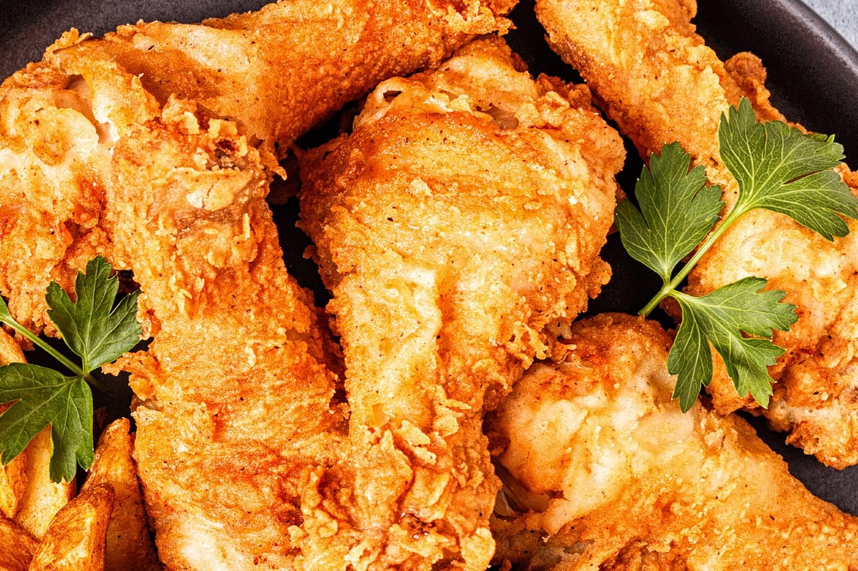 foto da receita Frango frito filé de peito