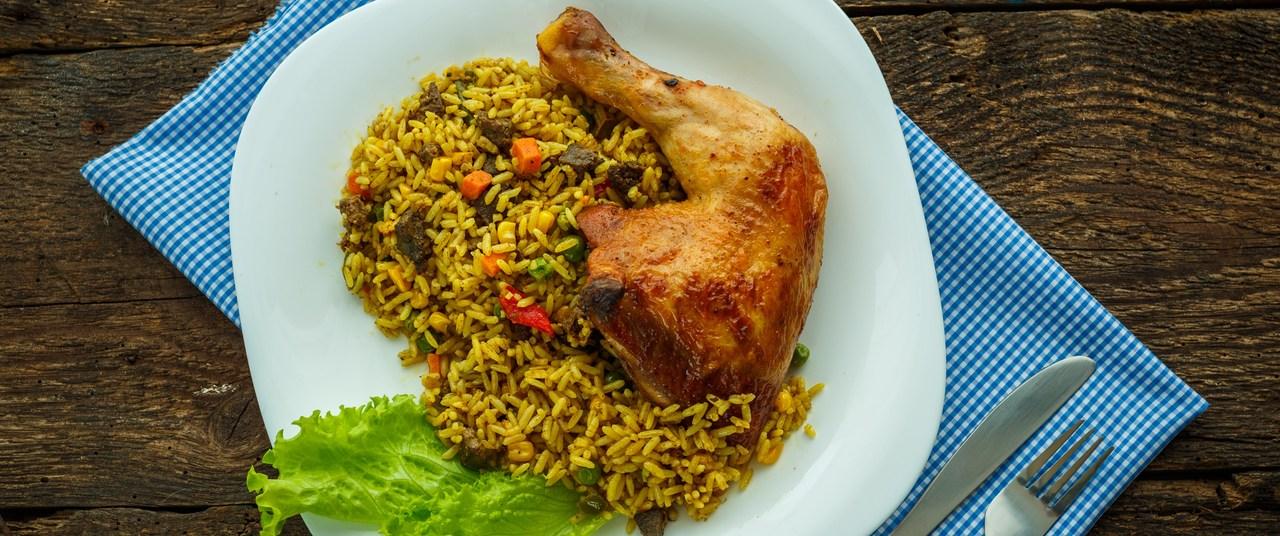 foto da receita Coxas de frango ao curry