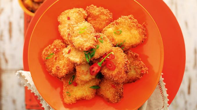 Filezinhos de frango picantes