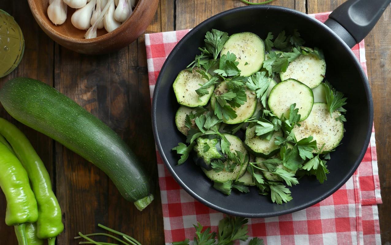 foto da receita Salada de abobrinha