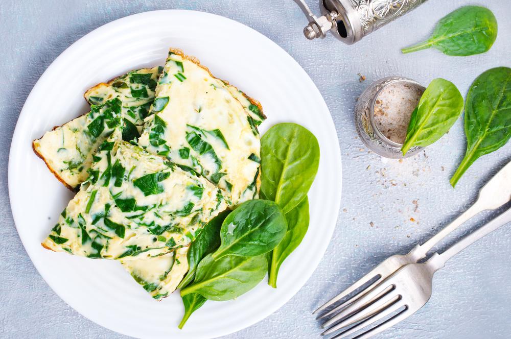 Omelete verde