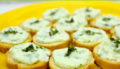 foto da receita Patê de queijo cottage