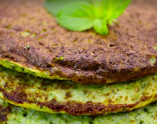 foto da receita Panqueca salgada de brócolis