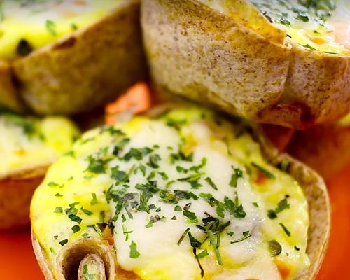 foto da receita Tortinha de legumes light