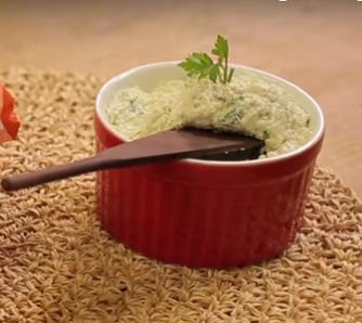 foto da receita Patê de frango com ervas