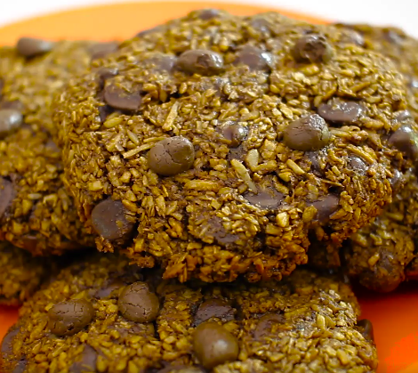foto da receita Cookie light de chocolate e coco