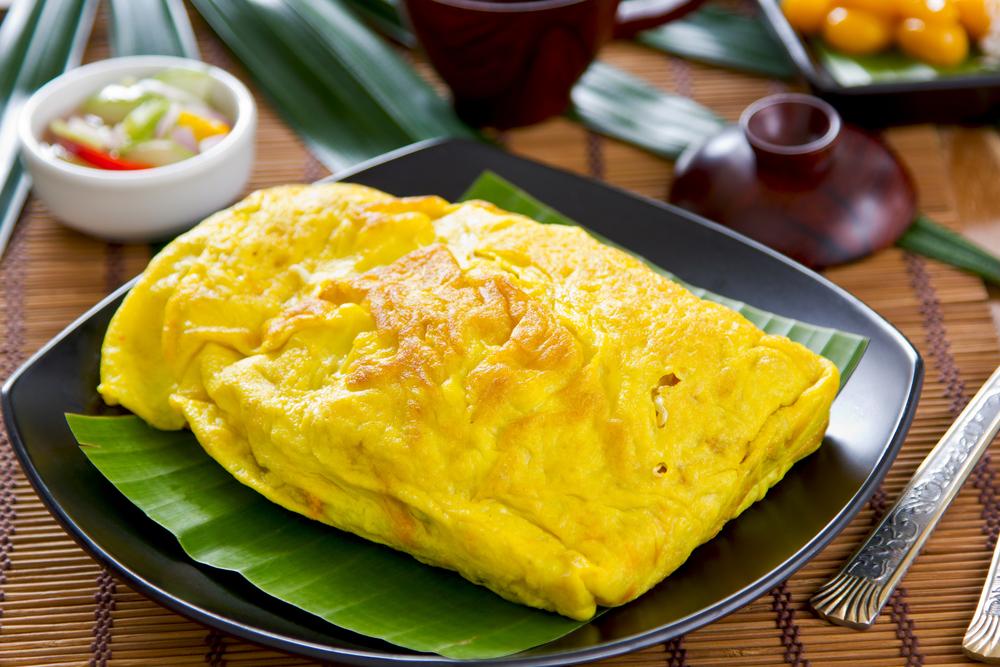 foto da receita Wrap de omelete light
