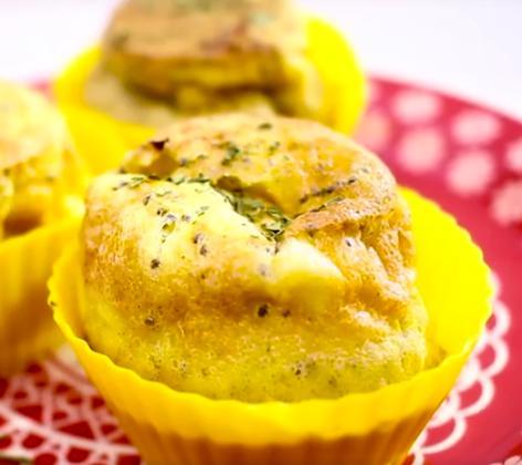 foto da receita Muffin de crepioca com chia