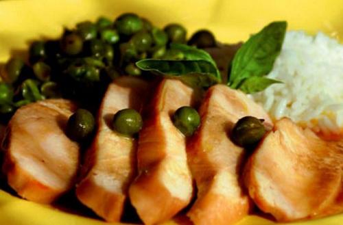 foto da receita Peito de frango com mel