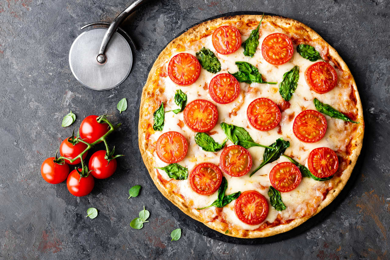 foto da receita Pizza de tapioca