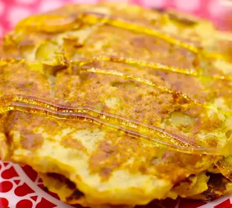 foto da receita Panqueca doce de batata doce