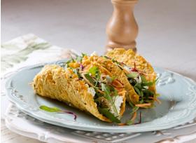 foto da receita Tacos de cenoura