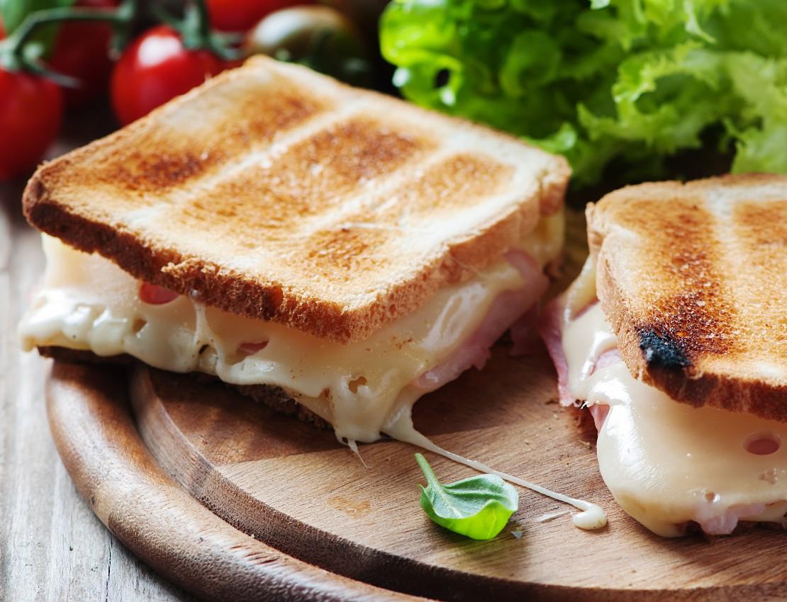 foto da receita Misto quente low carb