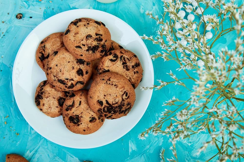 Cookie com coco low carb