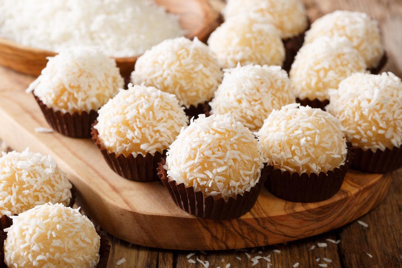 foto da receita Beijinho sem açúcar