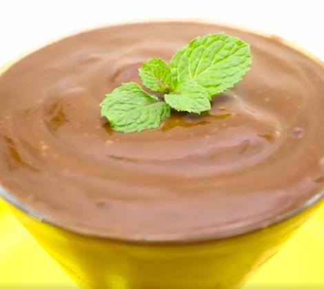 foto da receita Creme de chocolate e laranja