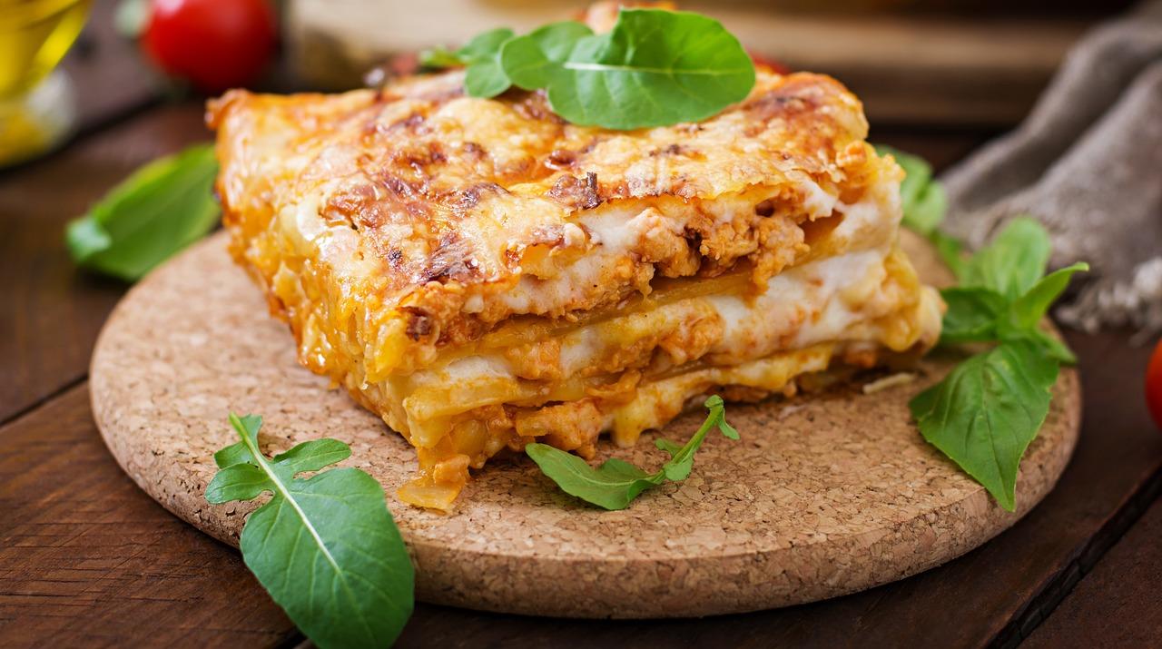 foto da receita Lasanha integral de 4 queijos
