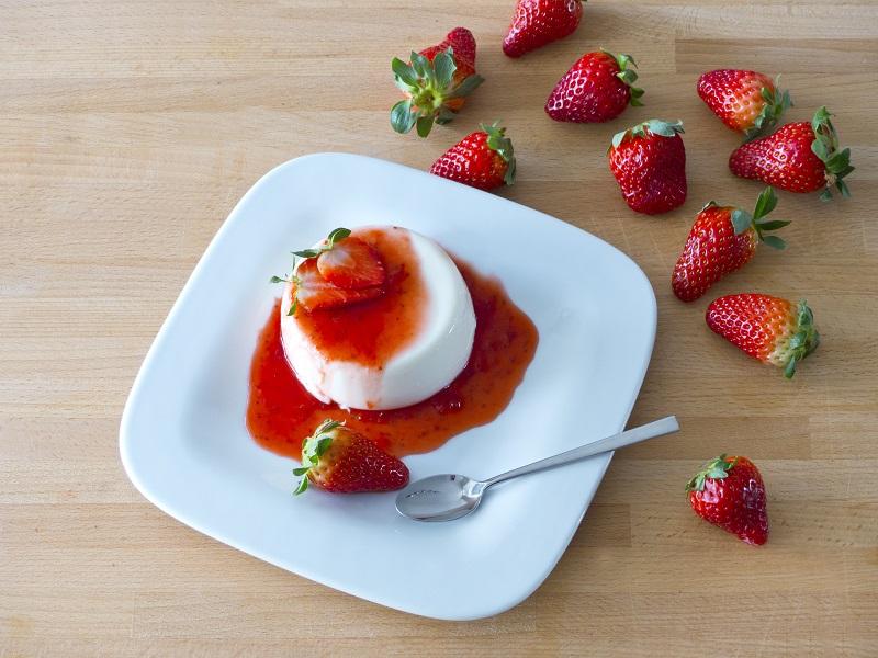 foto da receita Flan de iogurte Low carb