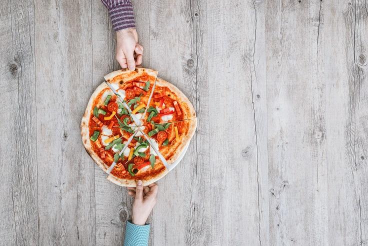 foto da receita Pizza com massa de tapioca